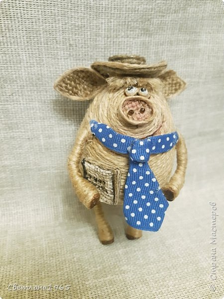 Доброй ночи всем!  не думала,что еще вернусь к этой теме,но бывший начальник попросил сделать свинок Хотя планировались все по отдельности.. фото 8