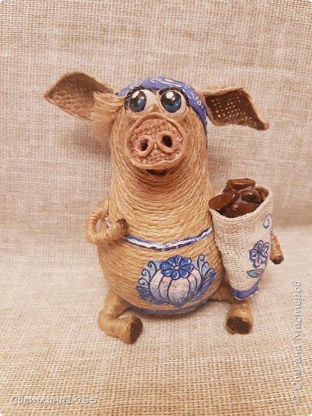 Доброй ночи всем!  не думала,что еще вернусь к этой теме,но бывший начальник попросил сделать свинок Хотя планировались все по отдельности.. фото 4