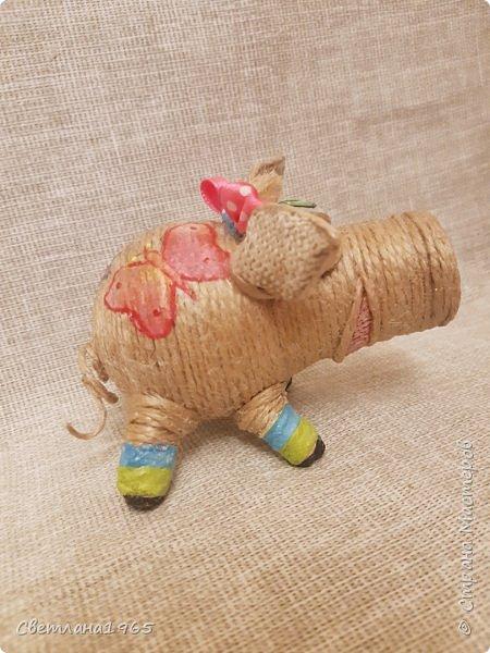 Доброй ночи всем!  не думала,что еще вернусь к этой теме,но бывший начальник попросил сделать свинок Хотя планировались все по отдельности.. фото 12