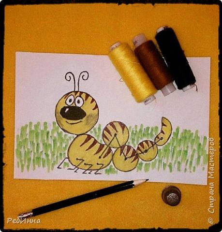 Здравствуйте! На дворе зима, а я к вам с гусеницей ;) Вообще-то я не люблю гусениц, червяков, слизней разных, но именно эту свою люблю всей душой! фото 2