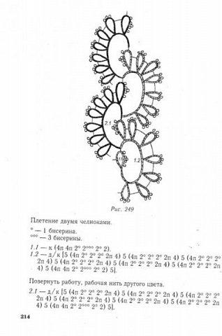 """Ожерелье, браслет, сережки выполнены в технике фриволите с бисером. Данный комплект сделан в подарок для десятилетней девочки. Схемы взяты из книги Т. Уткиной """"Чудесные кружева"""". фото 5"""