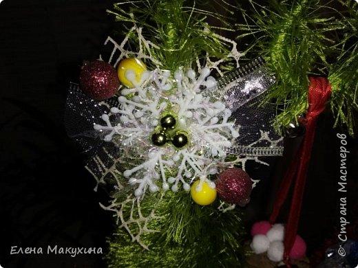 Здравствуйте, дорогие соседи! Новогодняя лихорадка в самом разгаре. И сегодня я к вам со своими елочками, большими и маленькими. фото 8