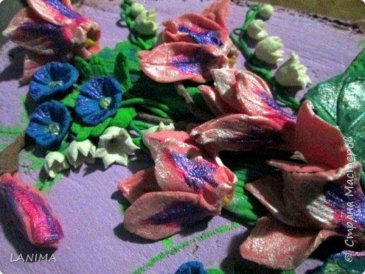 цикламены очень красивые цветы, разновидность их поражает и восхищает, заиметь живую альпийскую фиалку не позволяют условия, а так хочется.. вот и решила я сделать себе хоть солёные цикламенчики фото 3