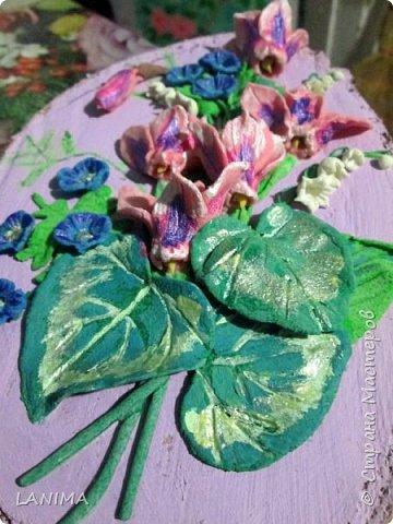 цикламены очень красивые цветы, разновидность их поражает и восхищает, заиметь живую альпийскую фиалку не позволяют условия, а так хочется.. вот и решила я сделать себе хоть солёные цикламенчики фото 4