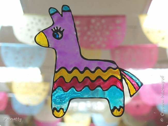 В этом году в школе темой новогодних украшений были разные страны. Помогла коллеге украсить класс в мексиканском стиле. фото 10