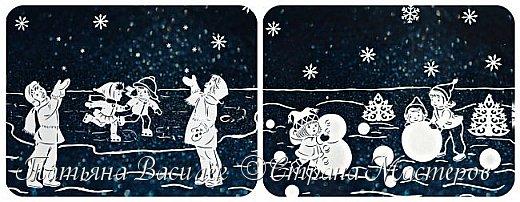 Наше окошечко с Новогодними Чародеями, которые дарят детям чудо!  Самый сказочный праздник в году, Когда взрослые верят, как дети, Что создал толстый лёд на пруду Самый сказочный маг на планете. Пусть приносит он белый снежок, Колыбельные песни метелей, Пожеланий огромный мешок, Изумрудность раскидистых елей. Волшебство новогодних затей, Разноцветье сверкающих льдинок. И весёлые лица друзей, И мечты из прекрасных картинок. И горящий огонь доброты, И в душе мелодичные звуки. Чтоб хватило нам всем теплоты! Чтобы нас обходили разлуки! (Яна Ярошевская-Молозовенко)  За шаблоны Чародеев огромное спасибо автору Екатерине Михеевой.  фото 2