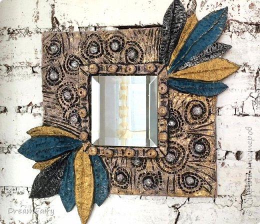 Папье-маше Декор зеркала