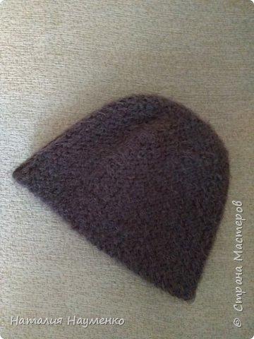 Снова перевязала надоевшие вещи. Функционал особо не изменился: были шапка и шарф, стали шапка и бактус волнорез. фото 3