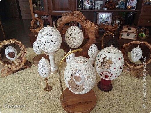 Резьба по скорлупе яиц. фото 1