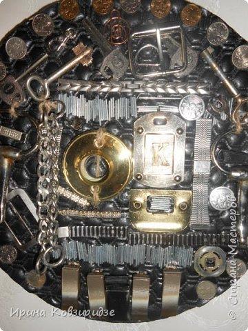 Всегда собираю металлические предметы. Из них получаются интересные панно Панно №1 фото 3