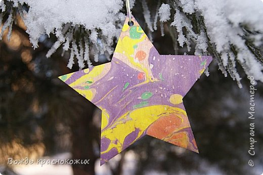 Рождественская звезда на праздничной ёлке у Знаменского храма в г. Дивногорске. фото 5