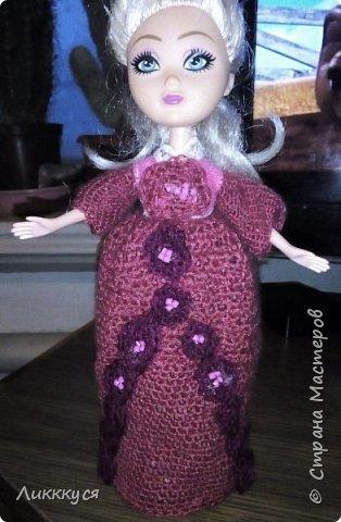 У дочери сломалась любимая кукла (поломались ноги). Решила попробовать, что-то с ней сделать, как-то ее отремонтировать. Взяла для этого все, что нашлось под рукой бутылку от сока, поролон, проволоку.  фото 7