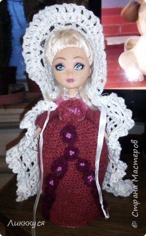 У дочери сломалась любимая кукла (поломались ноги). Решила попробовать, что-то с ней сделать, как-то ее отремонтировать. Взяла для этого все, что нашлось под рукой бутылку от сока, поролон, проволоку.  фото 8
