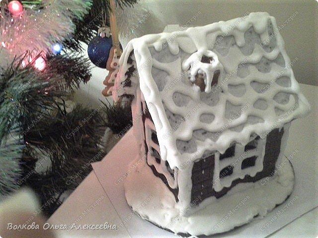 Ещё раз поздравляю всех жителей Страны Мастеров с пришедшими праздниками! Решила выложить свои пряники и прочее, что делала к Рождеству. В этом году наконец руки мои добрались до пряничных домиков. Конечно, они получились не такие красивые, как у некоторых чудо-мастериц, но оказались довольно вкусными :-)  Да и подарок из них получился отличный. фото 15