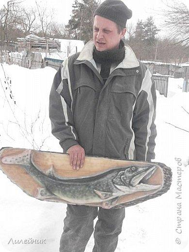 Здравствуй, Страна!  Представлю сегодня работы моего соседа, сделаны из дерева. Из инструментов он использует только бензопилу и болгарку. фото 28