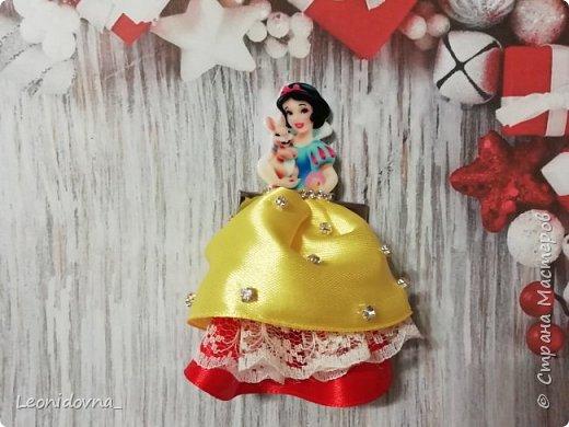 Заколочки с принцессами  фото 1