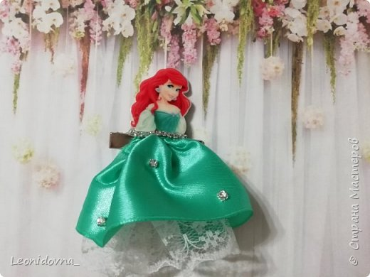 Заколочки с принцессами  фото 3