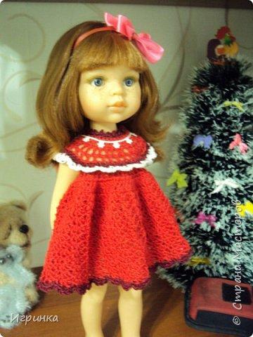"""Здравствуйте мастера и мастерицы! Признаюсь со всей ответственностью, что впадаю в детство (а, если честно, из него еще и не выходила), продолжаю """"играть"""" с куклами. Давно уже засматриваюсь на испанских куколок Паола Рейна. Смотрела-смотрела, и решила сделать себе подарок на ДР - выписала из интернет-магазина красавицу Кристи. И вот она нарядная (а точнее нюд) добралась до меня, чему я очень рада, чем и спешу похвалиться,  ну и конечно, скорее одеть красавицу. фото 3"""