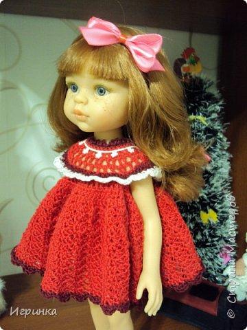 """Здравствуйте мастера и мастерицы! Признаюсь со всей ответственностью, что впадаю в детство (а, если честно, из него еще и не выходила), продолжаю """"играть"""" с куклами. Давно уже засматриваюсь на испанских куколок Паола Рейна. Смотрела-смотрела, и решила сделать себе подарок на ДР - выписала из интернет-магазина красавицу Кристи. И вот она нарядная (а точнее нюд) добралась до меня, чему я очень рада, чем и спешу похвалиться,  ну и конечно, скорее одеть красавицу. фото 4"""