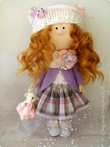 Приветствую жителей Страны Мастеров! Очень мне нравятся куколки большеножки, давно мечтала такую сшить. И вот решилась попробовать, сделала на подарок такую куколку - Нюшу. фото 1