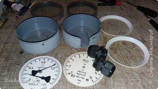 """Всем обитателям портала - привет!  Испёк свежий тортик: Steampunk Art часы, ночник: Орден """"Наш паровоз - вперёд летит!"""". фото 4"""
