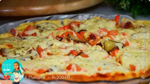 ПИЦЦА НА СКОВОРОДЕ за 10 минут - это оОчень Вкусно! БЫСТРАЯ Пицца БЕЗ дрожжей и БЕЗ замеса теста