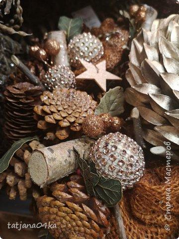 """Обожаю фотографировать """"детали"""",, детали праздников,детали в природе,маленькие радости,,,,, наслаждаюсь процессом ,,,,В этот раз обьектом сьёмки стал  магазин,в котором просто прогулялась,,рождественские венки,разнообразие гирлянд,это только маленькая малость,что попало в мой обьектив,,, фото 1"""