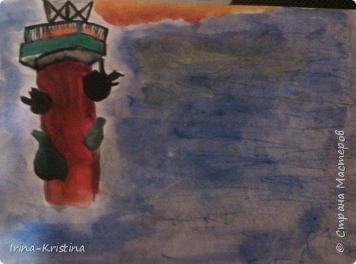 Натюрморт. Рисунок дочери на конкурс в школу с помощью мамы). фото 5