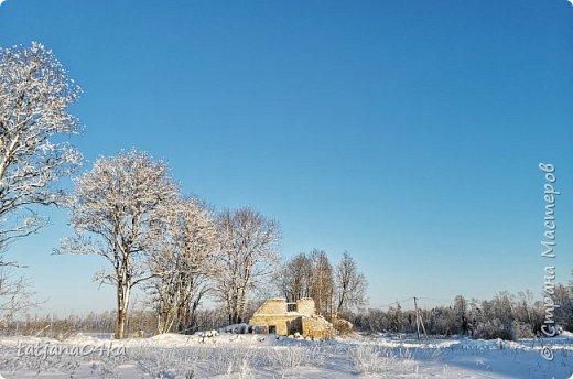говорят  зимой морозно,холодно,,Но насколько красивая природа,,,Иногда не замечаешь и минуса на улице фото 25