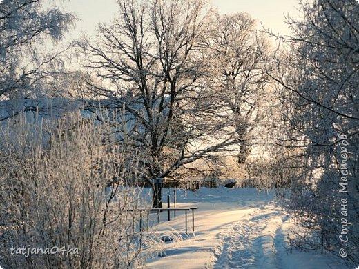 говорят  зимой морозно,холодно,,Но насколько красивая природа,,,Иногда не замечаешь и минуса на улице фото 26