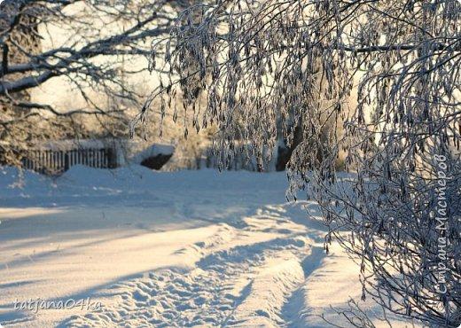 говорят  зимой морозно,холодно,,Но насколько красивая природа,,,Иногда не замечаешь и минуса на улице фото 13