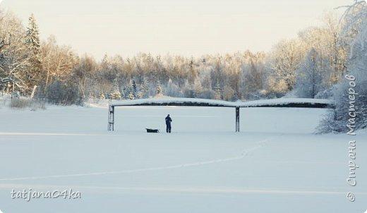 говорят  зимой морозно,холодно,,Но насколько красивая природа,,,Иногда не замечаешь и минуса на улице фото 14
