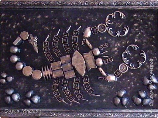 Картина для сестры (она по гороскопу скорпион), размер 40х60 см. фото 1