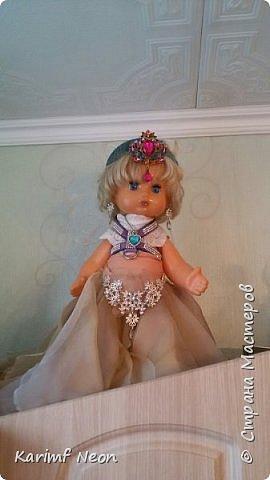 Делаю запись просто для того, чтобы показать какие платья с сшил своим любимым куклам. фото 2