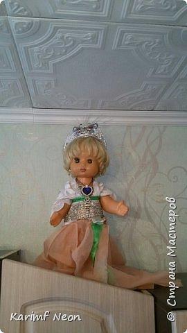 Делаю запись просто для того, чтобы показать какие платья с сшил своим любимым куклам. фото 3