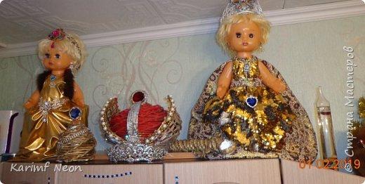 Делаю запись просто для того, чтобы показать какие платья с сшил своим любимым куклам. фото 1