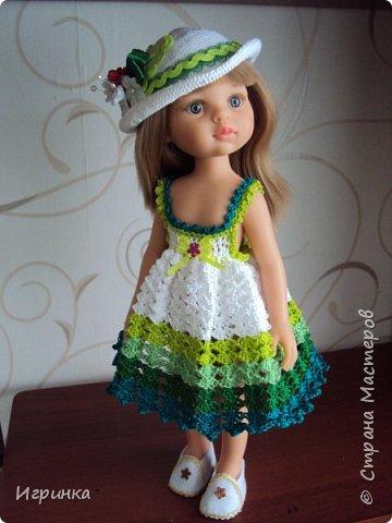 Здравствуйте! Продолжаем играть в куклы. Связался новый наряд для Паолочек. фото 12