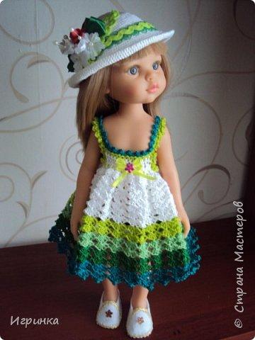 Здравствуйте! Продолжаем играть в куклы. Связался новый наряд для Паолочек. фото 13