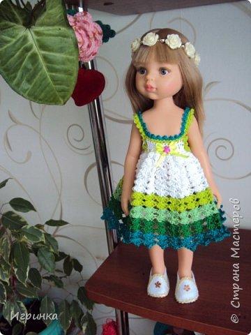 Здравствуйте! Продолжаем играть в куклы. Связался новый наряд для Паолочек. фото 8