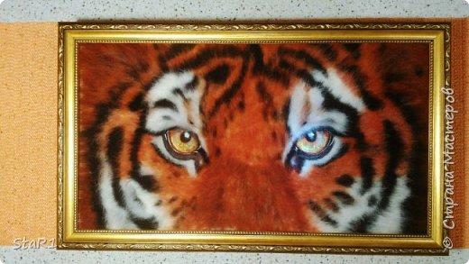 Тигр ...работа не окончена на 1- 2 фото . 3 является завершением. фото 2