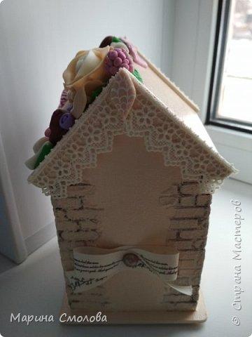 Вот такой вкусненький домик захотелось сделать. фото 3