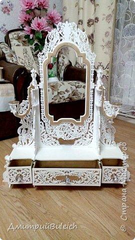 Зеркало настольное фото 2