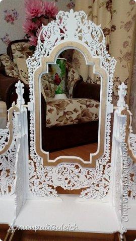 Зеркало настольное фото 4