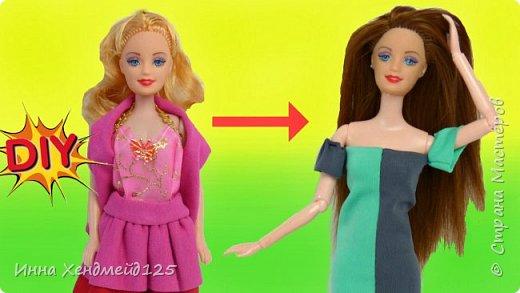 Захотела изменить одну из своих кукол — перепрошить волосы и пересадить на шарнирное тело. Выбрала такой способ, который мне подошёл.  Это долгая работа, но волосы крепятся надёжно. Я очень довольна результатом:) Эта куколка будет в моём мультсериале, а вы можете угадать,  кого она будет играть? Будет замена персонажа.