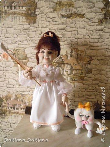 Зубная фея и ее подопечные были  изготовлены для участия в выставке. фото 1
