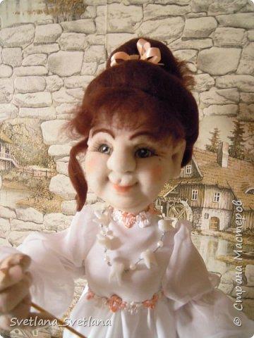 Зубная фея и ее подопечные были  изготовлены для участия в выставке. фото 2