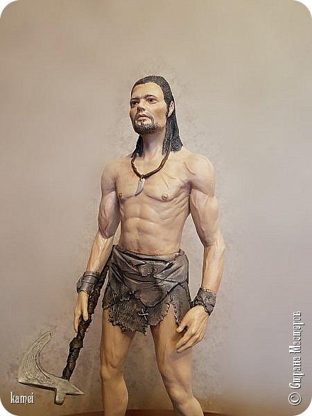Честное слово не знаю кого сделала...то ли Тарзан, то ли викинг...одежда как у Тарзана , оружие как у викинга фото 3