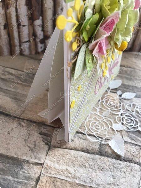 """Мне кажется, что уже каждая мастерица делала """"цветочные конвертики"""", а я в отстающих:)  Продолжаю показывать содержимое заказа. фото 6"""