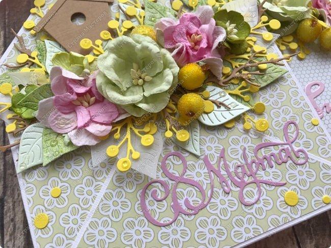 """Мне кажется, что уже каждая мастерица делала """"цветочные конвертики"""", а я в отстающих:)  Продолжаю показывать содержимое заказа. фото 11"""