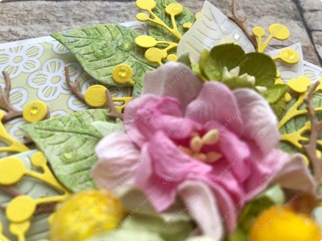 """Мне кажется, что уже каждая мастерица делала """"цветочные конвертики"""", а я в отстающих:)  Продолжаю показывать содержимое заказа. фото 12"""